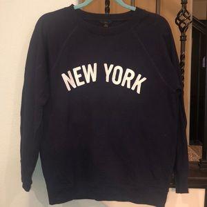 J. Crew New York Sweatshirt